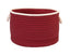 "Colonial Mills Doodle Edge 18""x12"" Home Decorative Storage Basket - Red"