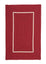 Colonial Mills Doodle Edge Home Decorative4' x 6' Rectangle Rug- Red