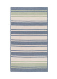 Colonial Mills Frazada Stripe Light Blue & Mint 5'x7' Rectangle Rug