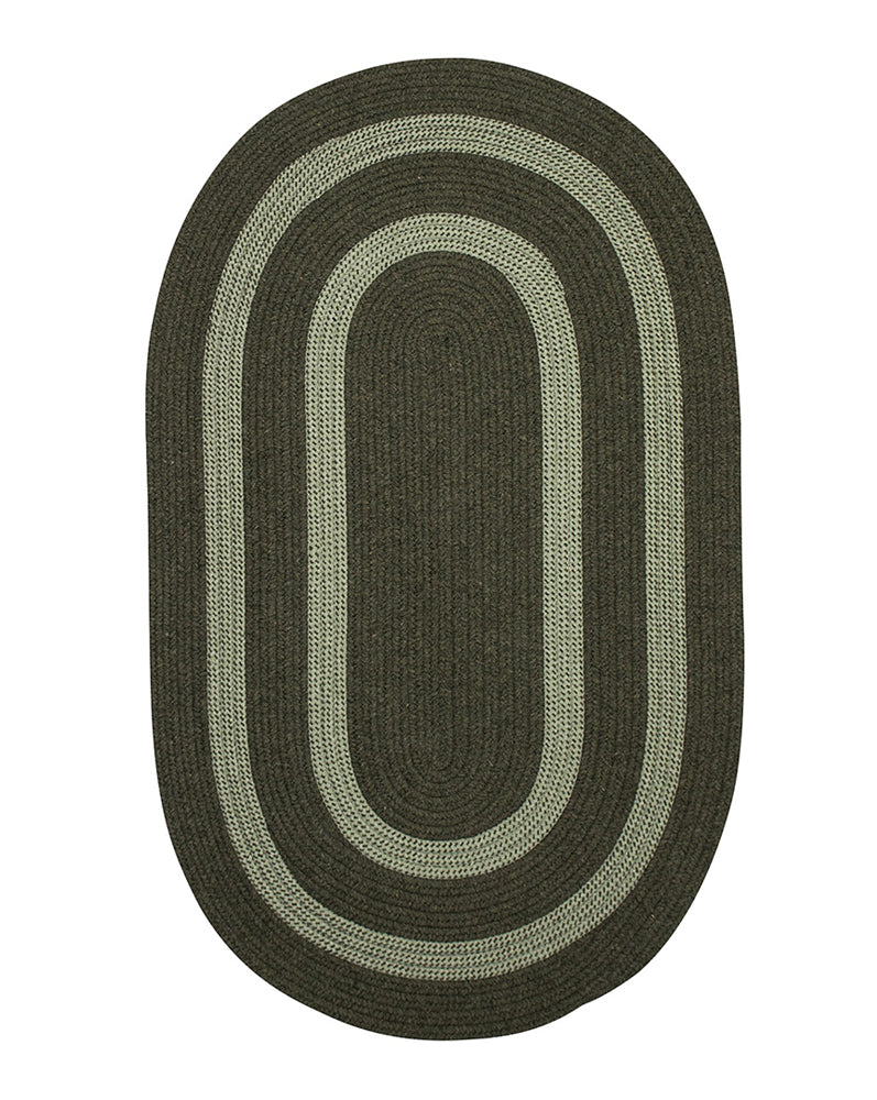 Colonial Mills Home Decor Graywood - Moss Green 2'x4' Oval Rug