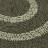 Colonial Mills Home Decor Graywood - Moss Green 5'x8' Oval Rug