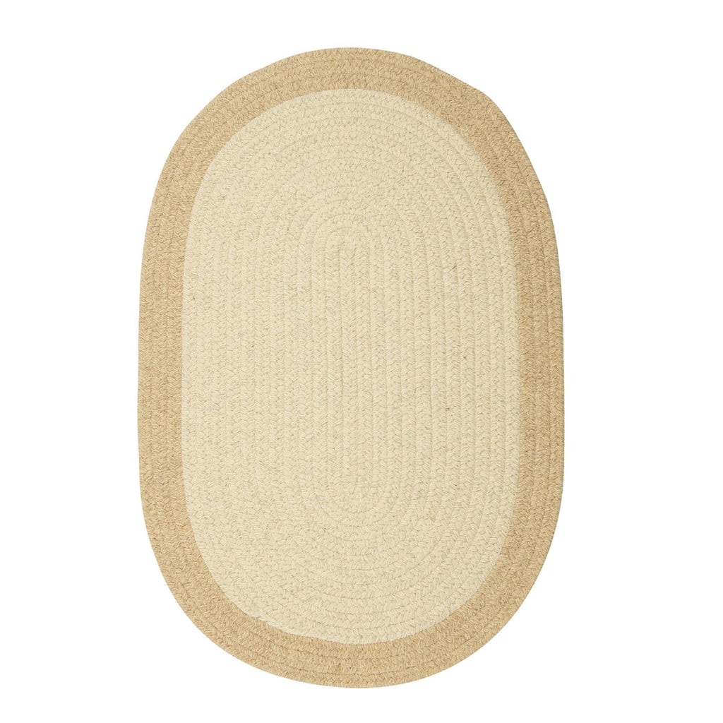 Colonial Mills Hudson Natural 4'x6' Oval Rug