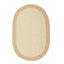 Colonial Mills Hudson Natural 8'x11' Oval Rug