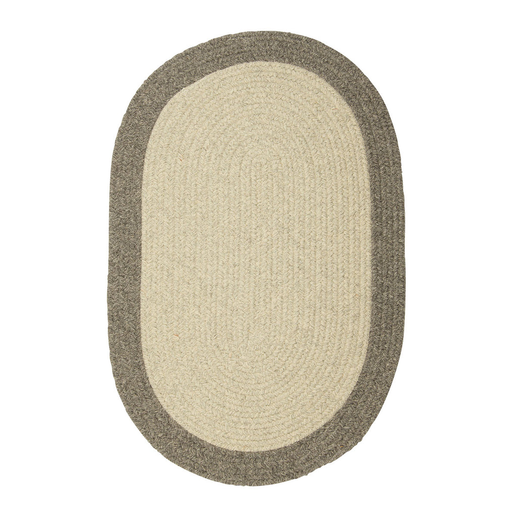 Colonial Mills Hudson Light Gray 2'x10' Oval Rug