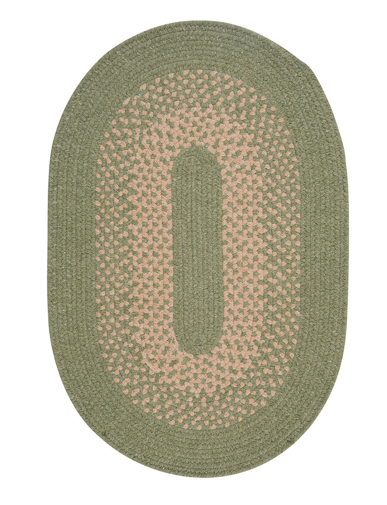 Colonial Mills Jackson - Palm 12'x15' Oval Area Rug