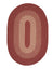 Colonial Mills Jackson - Rosewood 2'x6' Oval Area Rug