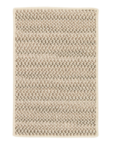 Colonial Mills Chapman Wool Natural 4'x6' Rectangle Area Rug