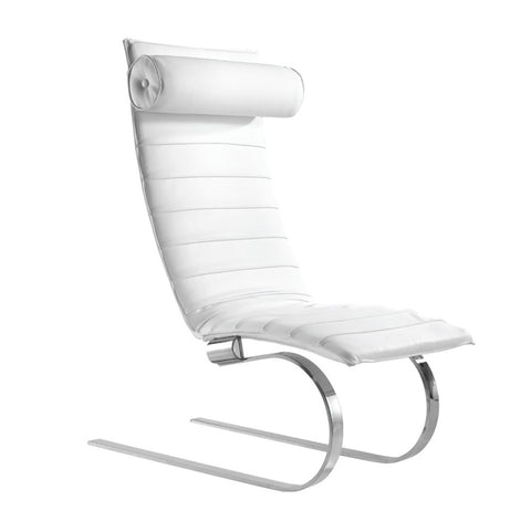 FINE MOD IMPORTS PIKA 20 LOUNGE CHAIR WHITE
