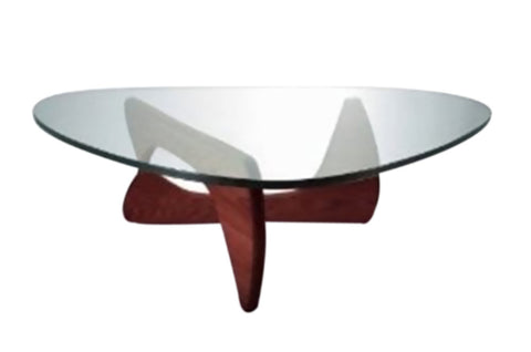 Fine Mod Imports Tribeca Coffee Table, Cherry