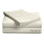 "Luxe Collection 618ct Combed Cotton Sateen Weave Low Profile - Fts Mattresses Up To 11"" SheetSets Twin XL Ivory"