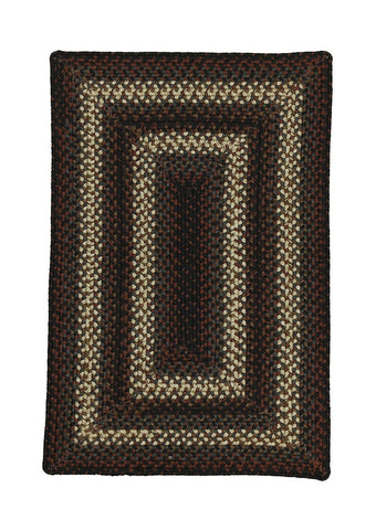 4' X 6' Homespice Decor Montgomery Indoor/Outdoor Braided Rug Rectangle