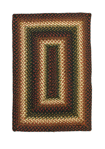 4' X 6' Homespice Decor Prescott Jute Braided Rug Rectangle