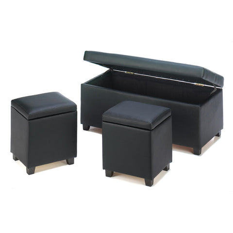 URBAN STORAGE TRUNK & STOOLS