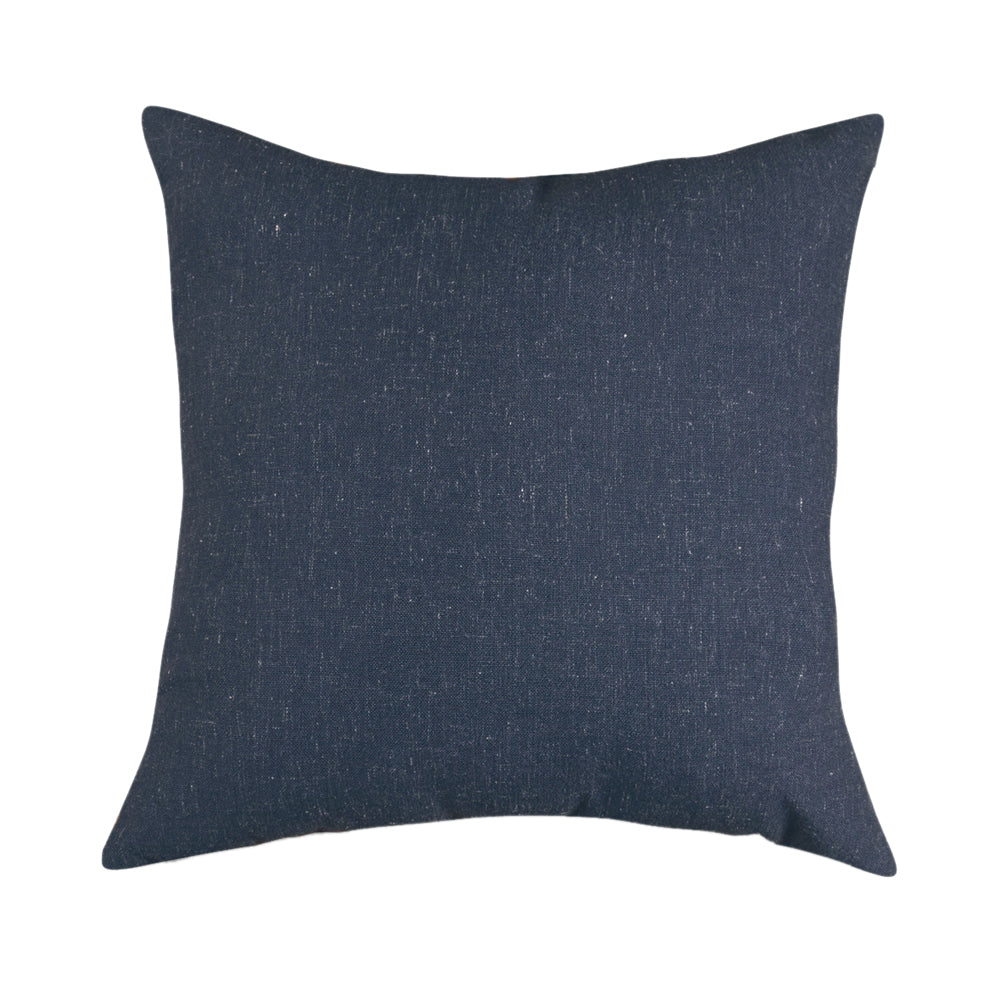 Majestic Home Goods Living Room Furniture Navy Wales Large Pillow