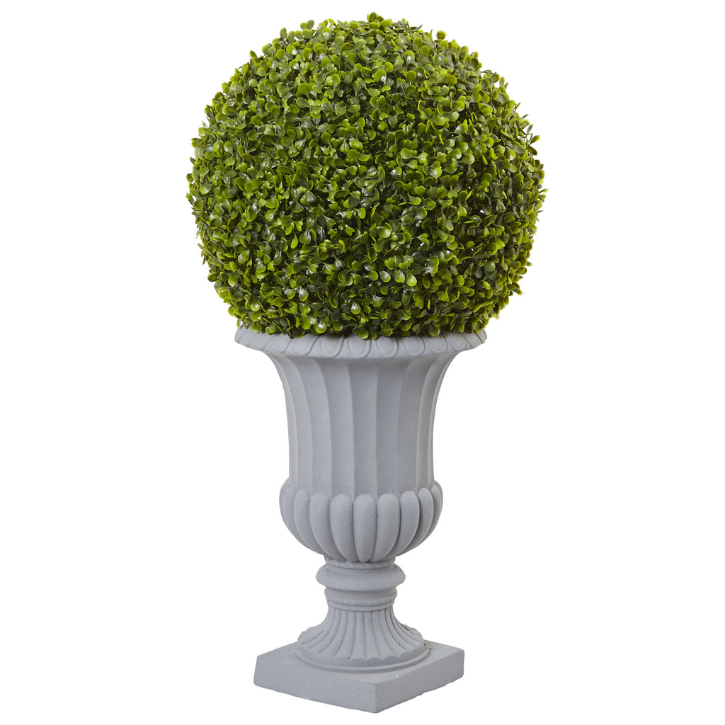 2.5' Boxwood Topiary with Urn - Indoor/Outdoor