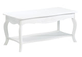 White Elegant Coffee Table