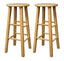 "Pacey 2-Pc 29"" Bar Stool Set Beech"