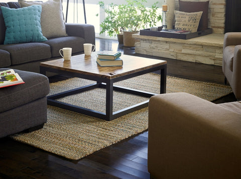 4' X 6' Ilana Jute and Chenille Cotton Rug