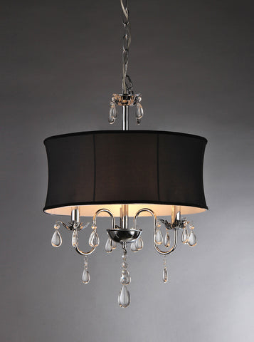 1-light Vince Crystal Chandelier