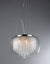 Odysseus Chrome and Crystal 5-light Chandelier