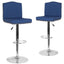 Bellagio Contemporary Adjustable Height Barstool