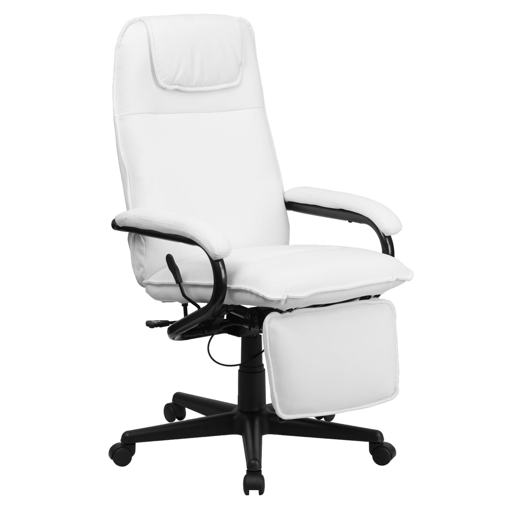 High Back Leather Executive Reclining Swivel Office Chair