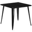 31.75'' Square Metal Indoor-Outdoor Table