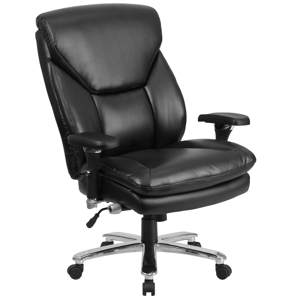 HERCULES Series 24/7 Intensive Use, Multi-Shift, Big & Tall 400 lb. Capacity Executive Swivel Chair with Lumbar Support Knob