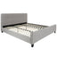 Tribeca King Size Tufted Upholstered Platform Bed