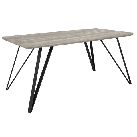 "Corinth 31.5"""" x 63"""" Rectangular Dining Table"