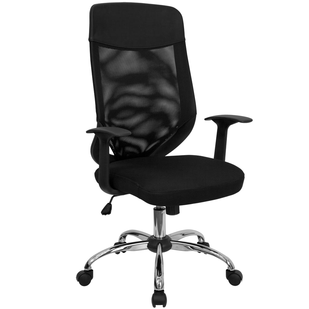 High Back Mesh Executive Swivel Office Chair with Mesh Padded Seat