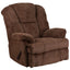 Contemporary Hillel Chenille Rocker Recliner