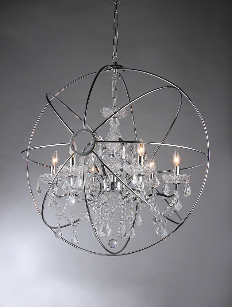 Saturn's Ring 22-inch Chandelier