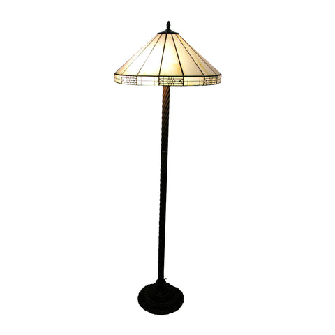 Tiffany-style Simple Floor Lamp