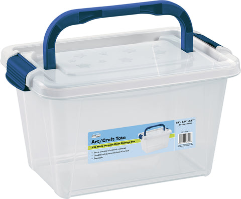 Pro Art Storage Box W/Organizer Top-3.5L Translucent