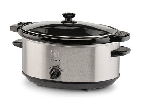 Toastmaster 7 Qt Locking Lid Travel Slow Cooker
