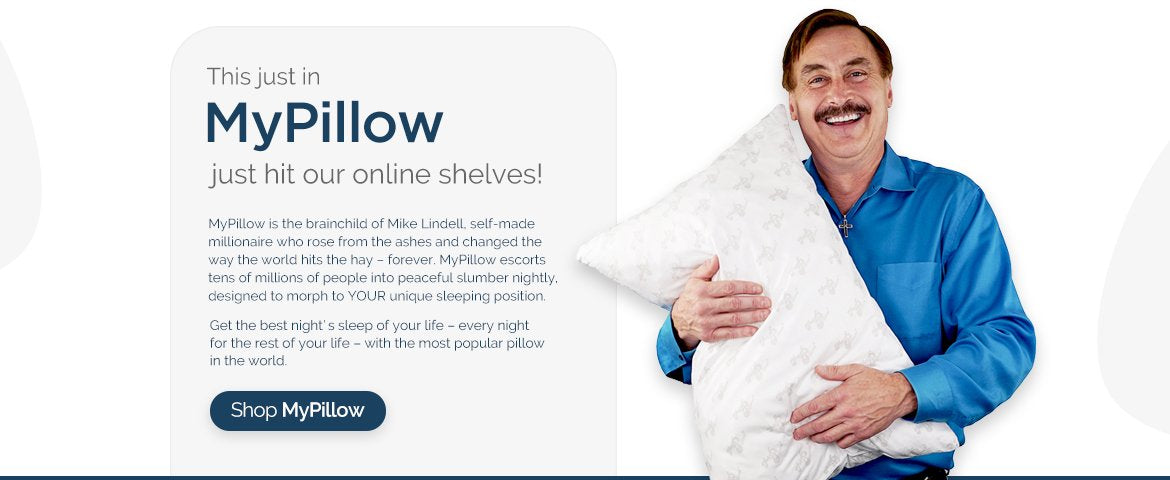 Get MyPillow® now on Qolture®!