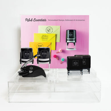 Personalized Stamp Retail Display