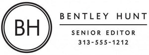 Bentley Rectangle Personalized Self Inking Return Address Stamp