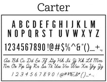 Caleb Personalized Self-inking Round Return Address Stamp Font