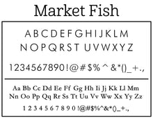 Market Fish Return Address Embosser