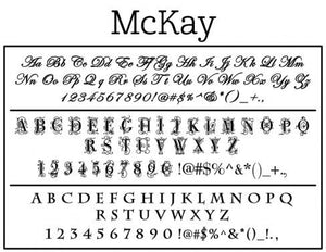 Mckay Personalized Self-inking Round Return Address Design on Envelope