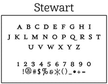 Stewart Return Address Embosser