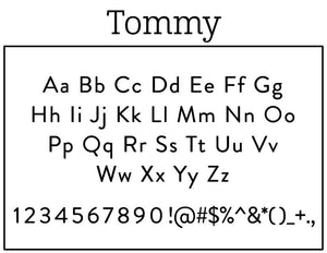 Tommy Return Address Embosser