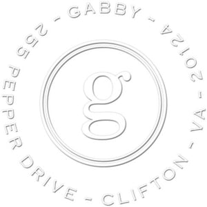 Gabby Return Address Embosser
