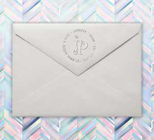 Jennifer Return Address Embosser