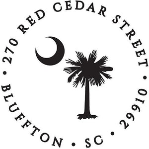 South Carolina Palm Stamp