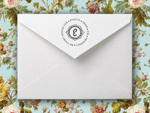 Evelyn Return Address Stamp