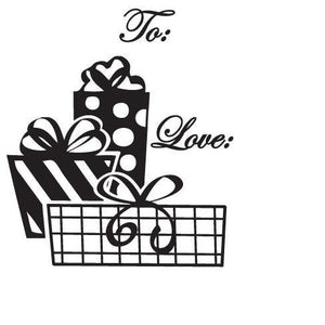 Holiday Tag Stamps