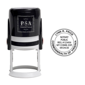 Round Notary Seal Stamps